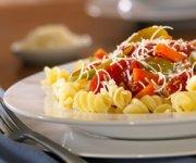 Rotini végétarien et sauce