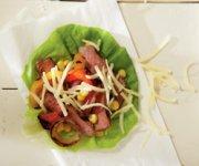 Rouleaux au bifteck grillé et au Monterey Jack