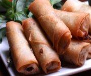 Rouleaux impériaux au porc et aux légumes