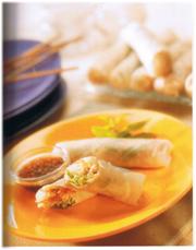 Rouleaux printemps Poulet-Crevettes