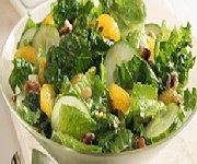 Salade à l'orange et aux noix de Grenoble