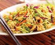 Salade asiatique au brocoli et aux arachides