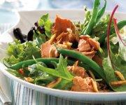 Salade au saumon et haricots verts