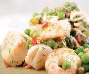 Salade aux fruits de mer