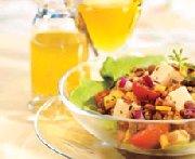 Salade aux lentilles et au Havarti