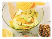 Salade d'avocat et de mangue