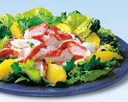 Salade au crabe à l'antillaise