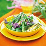 Salade d'asperges du printemps