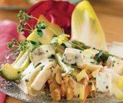 Salade d'endives aux noix et feta