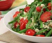 Salade d'orge et de haricots verts