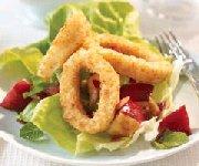 Salade de calmars et de pommes au tamarin