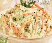 Salade de chou crémeuse 6