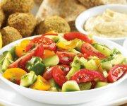 Salade de concombre et de tomates