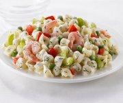 Salade de coquilles et crevettes