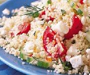 Salade de couscous à la grecque