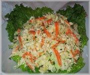 Salade de chou crémeuse, simple et rapide