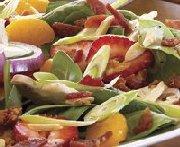 Salade de fruits et d'épinards