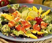 Salade de homard à la mangue