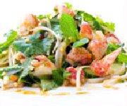 Salade de homard et sa vinaigrette asiatique
