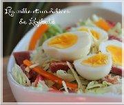 Salade de jambon à la vinaigrette ranch