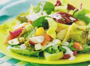 Salade de légumes minestrone