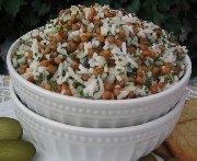 Salade de lentilles et de riz