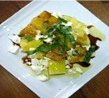 Salade de melon d'eau du Québec et feta grec