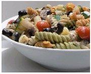 Salade de pâte aux légumes grillés