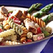 Salade de pâtes aux asperges et au poulet