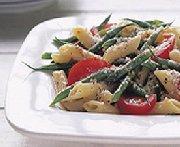 Salade de pâtes aux haricots verts frais