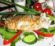 Salade de poisson cajun