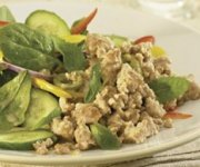 Salade de porc thaï à la menthe