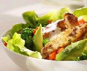 Salade de poulet à la dijonnaise