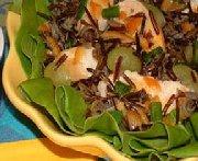 Salade de poulet et de riz