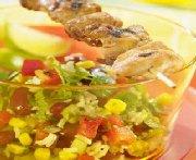 Salade de poulet grillé Tex Mex