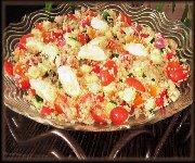 Salade de quinoa et bocconcini