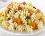 Salade de radiatore fruitée