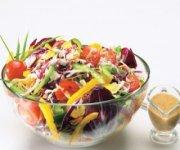 Salade de radicchio haute en couleurs
