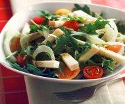 Salade de roquette, fenouil et Le Chant du Coq