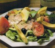 Salade de rôti de porc