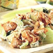 Salade de saumon jardinière