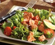 Salade de saumon teriyaki