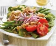Salade de thon aux deux haricots