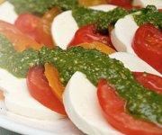 Salade de tomates et mozzarella fraîche