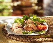 Salade d'été de poulet à l'asiatique