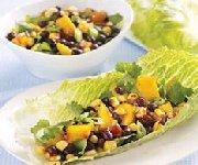 Salade habanero de fèves noires et mangues