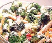 Salade ranch en tête à tête