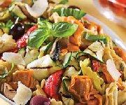 Salade tiède de tortellinis à l'italienne