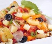 Salade Panzanella au Le Moine