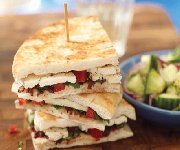 Sandwich au fromage fondant à la Grecque